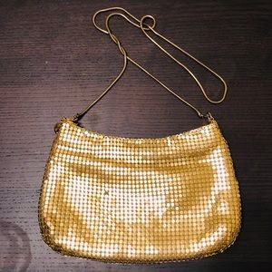 Free new gold sparkle party clutch